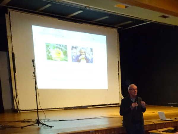 Yves Le Conte lors de son intervention à l'Université d'automne du GDSA-209